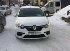 Аренда Renault Logan 2021 в Перми