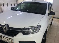Аренда Renault Logan 2019 в Белгороде