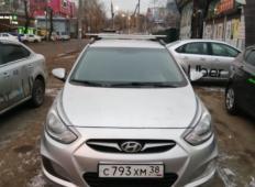 Аренда Hyundai Solaris 2013 в Иркутске