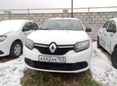 Аренда Renault Logan 2018 в Самаре