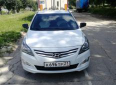 Аренда Hyundai Solaris 2014 в Чебоксарах