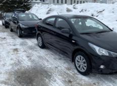 Аренда Hyundai Solaris 2021 в Новосибирске