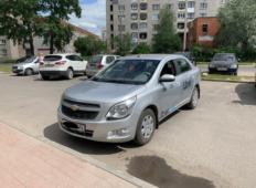 Аренда Chevrolet Cobalt 2014 в Вологде