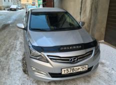 Аренда Hyundai Solaris 2014 в Красноярске