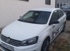 Аренда Volkswagen Polo 2016 в Пятигорске