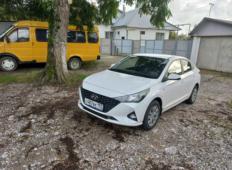 Аренда Hyundai Solaris 2021 в Адлере