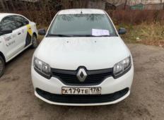 Аренда Renault Logan 2016 в Череповеце