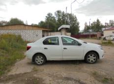Аренда Renault Logan 2017 в Великом Новгороде