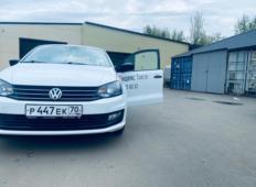 Аренда Volkswagen Polo 2020 в Красноярске