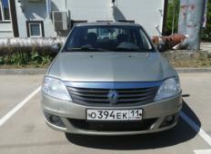 Аренда Renault Logan 2012 в Сыктывкаре