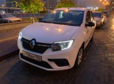 Аренда Renault Logan 2018 в Воронеже