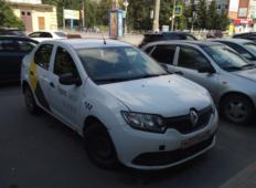 Аренда Renault Logan 2018 в Архангельске