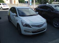 Аренда Hyundai Solaris 2014 в Архангельске