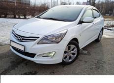 Аренда Hyundai Solaris 2013 в Брянске