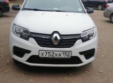 Аренда Renault Logan 2020 в Нижнем Новгороде