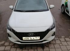 Аренда Hyundai Solaris 2020 в Ростове-на-Дону