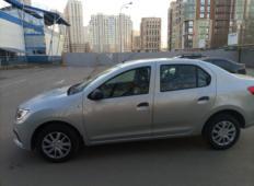 Аренда Renault Logan 2021 в Санкт-Петербурге