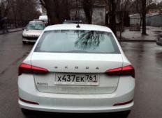 Аренда Skoda Rapid 2021 в Ростове-на-Дону