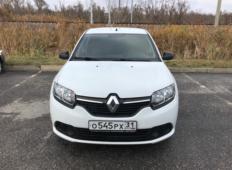 Аренда Renault Logan 2017 в Белгороде