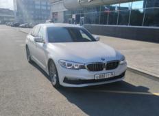 Аренда BMW 5er 2018 в Екатеринбурге