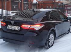 Аренда Toyota Camry 2019 в Санкт-Петербурге