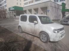 Аренда Nissan Cube 2013 в Казани