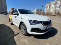 Аренда Skoda Rapid 2021 в Красноярске