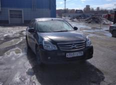 Аренда Nissan Almera 2018 в Екатеринбурге
