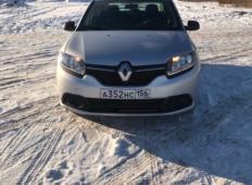 Аренда Renault Logan 2016 в Оренбурге