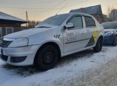 Аренда Renault Logan 2014 в Красноярске