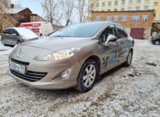 Аренда Peugeot 408 2014 в Красноярске