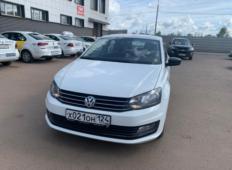 Аренда Volkswagen Polo 2019 в Красноярске