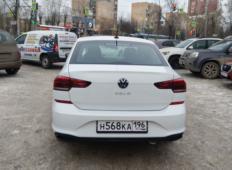 Аренда Volkswagen Polo 2020 в Екатеринбурге