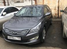 Аренда Hyundai Solaris 2016 в Иркутске