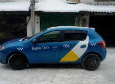 Аренда Renault Sandero 2015 в Иркутске