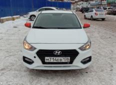 Аренда Hyundai Solaris 2018 в Иркутске