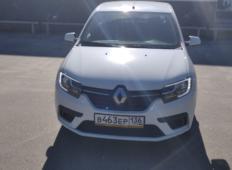 Аренда Renault Logan 2021 в Воронеже