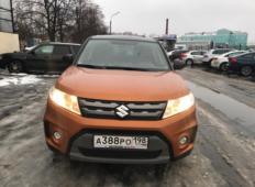Аренда Suzuki Vitara 2018 в Санкт-Петербурге