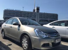 Аренда Nissan Almera 2017 в Санкт-Петербурге