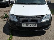 Аренда Renault Logan 2013 в Ставрополе