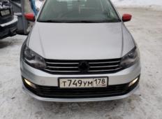 Аренда Volkswagen Polo 2016 в Новосибирске