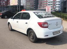 Аренда Renault Logan 2018 в Санкт-Петербурге