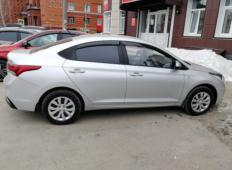 Аренда Hyundai Solaris 2017 в Томске