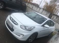 Аренда Hyundai Solaris 2014 в Барнауле
