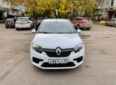 Аренда Renault Logan 2021 в Вологде