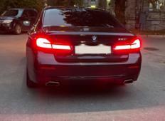 Аренда BMW 5er 2021 в Санкт-Петербурге