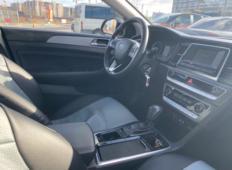 Аренда Hyundai Sonata 2019 в Санкт-Петербурге