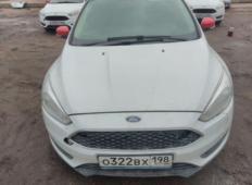Аренда Ford Focus ST 2018 в Санкт-Петербурге