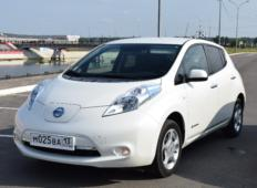 Аренда Nissan Leaf 2016 в Саранске