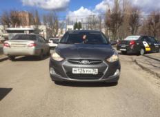Аренда Hyundai Solaris 2012 в Воронеже
